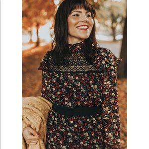 ModCloth x Anna Sui Thriving Style Midi Dress